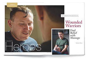 """David's Heroes"" Massage & Bodywork, November/December 2014"
