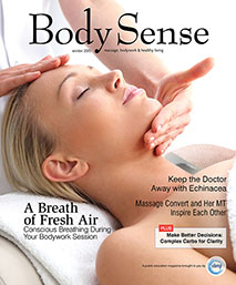 Body Sense Magazine Cover